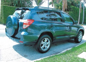 Toyota Rav 4 after Elite Paint & Body Shop fixed it.
