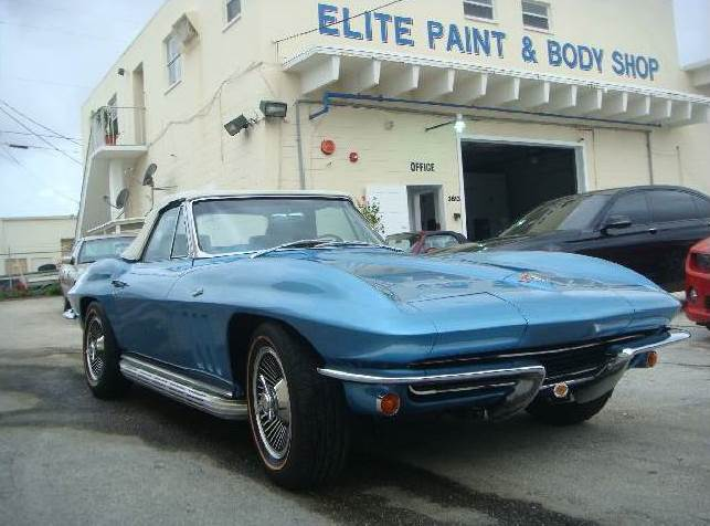 1965 Corvette Restoration by Elite Paint & Body Shop