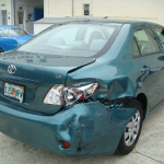 Before and After Pictures of a Toyota Corolla Fixed by Elite Paint & Body Shop