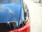 Photographs of a damaged Volkswagen Jetta that was repaired by Elite Paint & Body Shop in West Palm Beach Florida